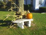 Fall Bench by Kirin-Rosenbaum