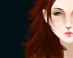 Freckled Shepard by nica-nyan