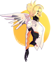 [Overwatch] Mercy by The-AlleyCat