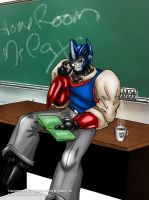 Home room teacher: Mr. Pax (colored) by wulongti