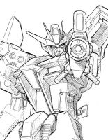 launcher strike gundam by beamer