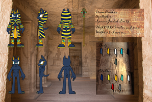 Anubis refference sheet by OrionTHedgehog