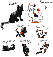 Cat Breedables #3 Litter4 by AerithsAdopts