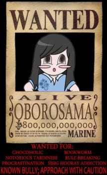 Wanted by oborosama