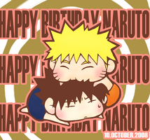 NARUTO : HAPPY BIRTHDAY NARUTO by Aoeiya