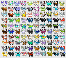 100 Cat Adopts~ Open by Ariokkii-Adopts