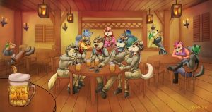 Commission - Funny Card Game by Torheit-die-Katze