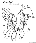 Lineart Ex by Arceus55