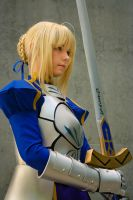 Fate Stay Night: Saber by gamefan23