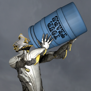 Excalibur Prime loves the taste of Your Tears by Mcl-The-Blue-Madness