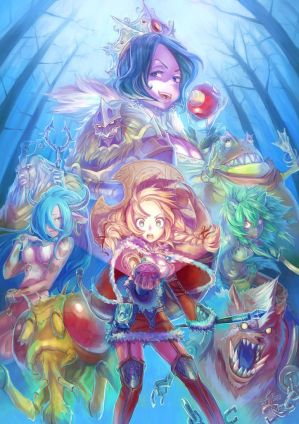 SnowWhite and The SevenDeadlySins by Kyokimaru