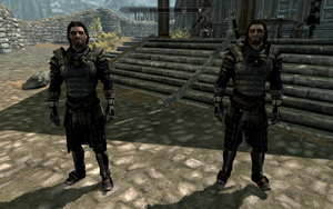 Farkas 'n Vilkas in Blades Armour by Mediziner