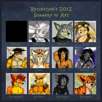 +Art Summary of 2012+ by RatchetJak
