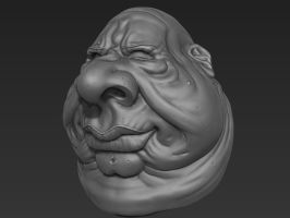 Second speed sculpt of the day! 05/14/12 by Rafferty-Eggleston