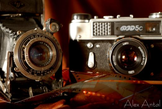 Old Cameras II - Product by alexnosilence