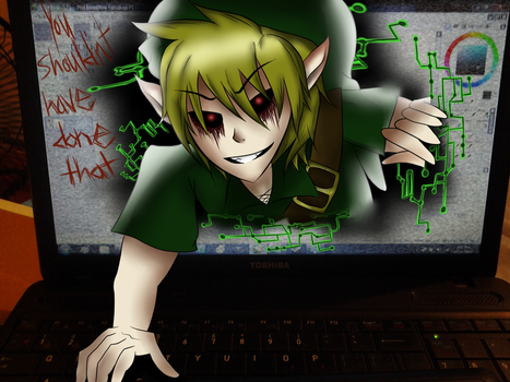 ++ Ben Drowned: You shouldn't have done that ++ by Abundant-Chaos