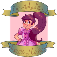 It's ya girl Princess Marco by Memingerss
