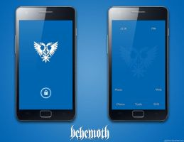 Simple Blue Behemoth by glypheus