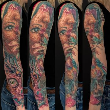 Abstract sleeve by graynd