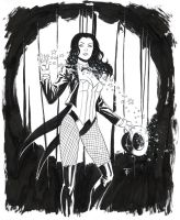 Zatanna commission by 0boywonder0