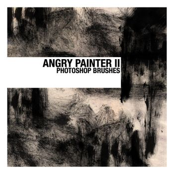Angry Painter II Brushes by thesoulcanwait