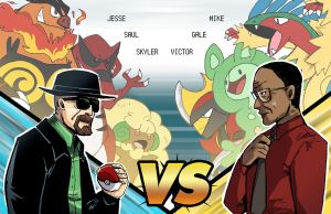 Breaking Bad Battle by montiray