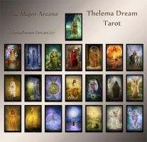 The Major Arcana - Thelema Dream Tarot by ThelemaDreamsArt