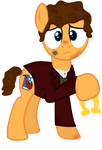Bilbo Baggins (Ponified) by Chaotic-Fury