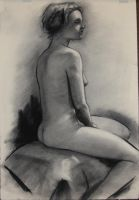 2/26/13 charcoal study by humblestudent