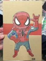 ACE Spidey Lil Dude by MARR-PHEOS