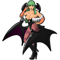 TvC Morrigan by CatchShiro
