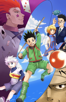Hunter X Hunter by Kanokawa