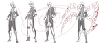 OCs that never came to be: DGM OC by Popysfilms