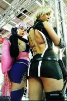 Ayane and Sonia - Sexy Cosplay by chinsoon