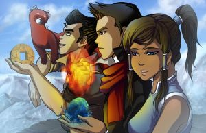 Team Korra by Spoonful0fcats
