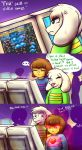 Frisk' Skill in Video Games by SecretMaskedBurger
