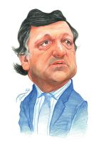 Manuel Barrosso Caricature by StDamos