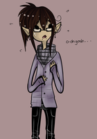 awkward little elf by GloomyStars