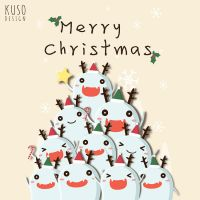 CHRISTMAS by kusodesign