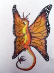 Butterfly dragon by Tinch123