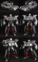 Custom Deluxe Megatron by Solrac333