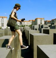 Holocaust memorial 2 by moominxcorpse