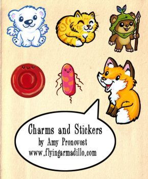 Charms and Stickers 2015 by artyewok