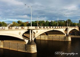 One of the Bridge in Praha by Nergal8891