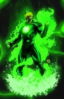 Green Lantern Earth 2 Colors by Sk8shady3214