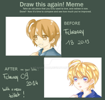 Redraw it ! Lon-chan by Otaku0chan
