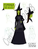 Elphaba Character Sheet by Cor104
