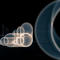 Circonvolutions Nocturnes 2 virage by Pierre-Lagarde