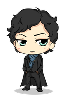 Sherlock by Mibu-no-ookami