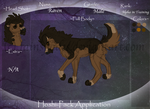 Raven//HoshiPack//Alpha to Be by FaineSpades